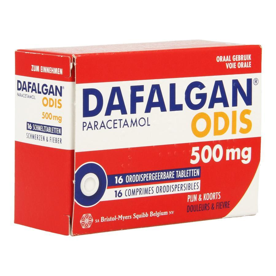 Image of Dafalgan Odis 500mg