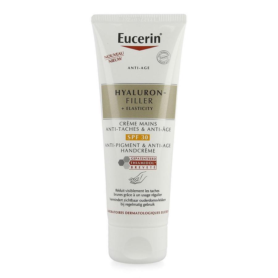 Image of Eucerin Anti-âge Hyaluron-Filler + Elasticity crème mains SPF30
