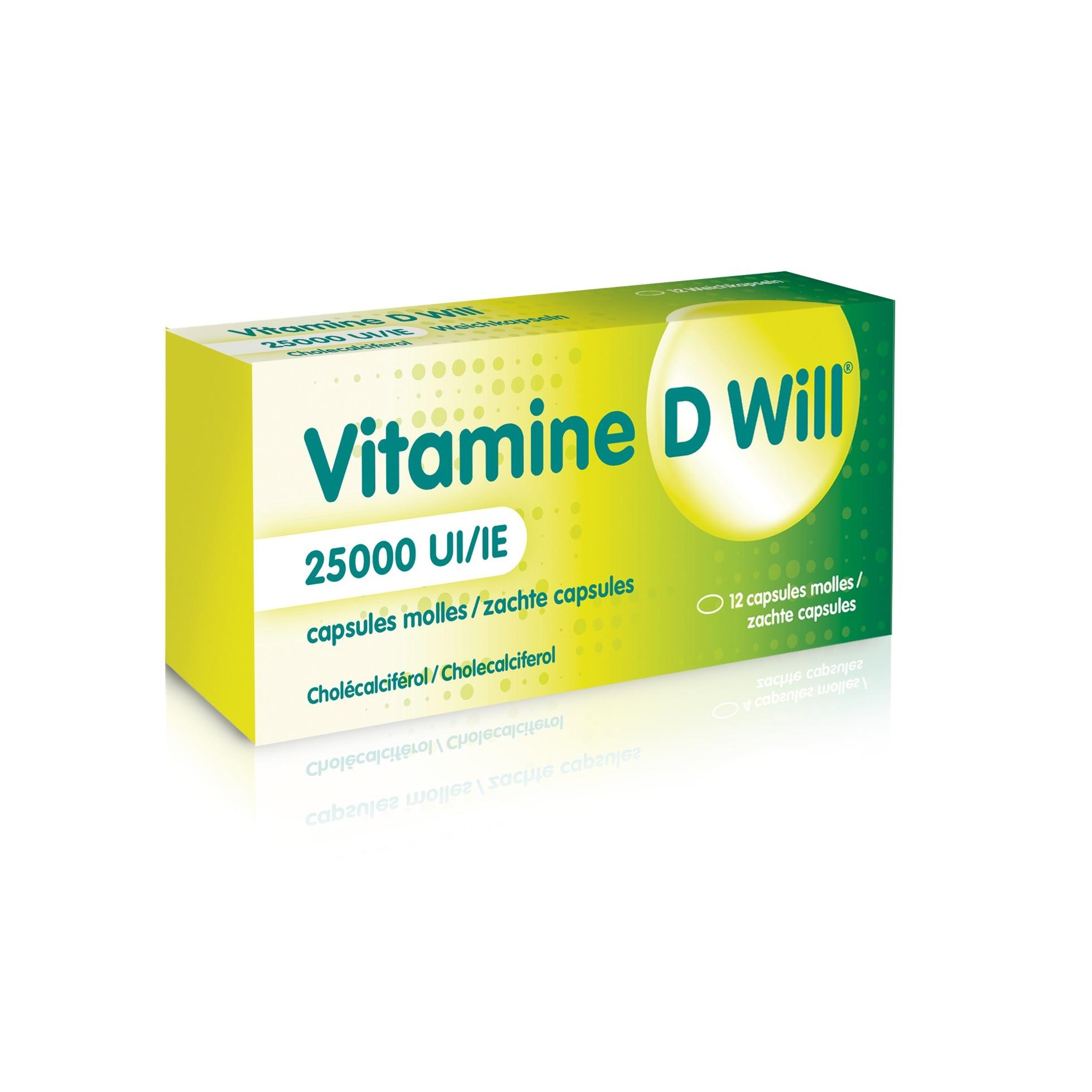 Image of Vitamine D Will 25.000IE