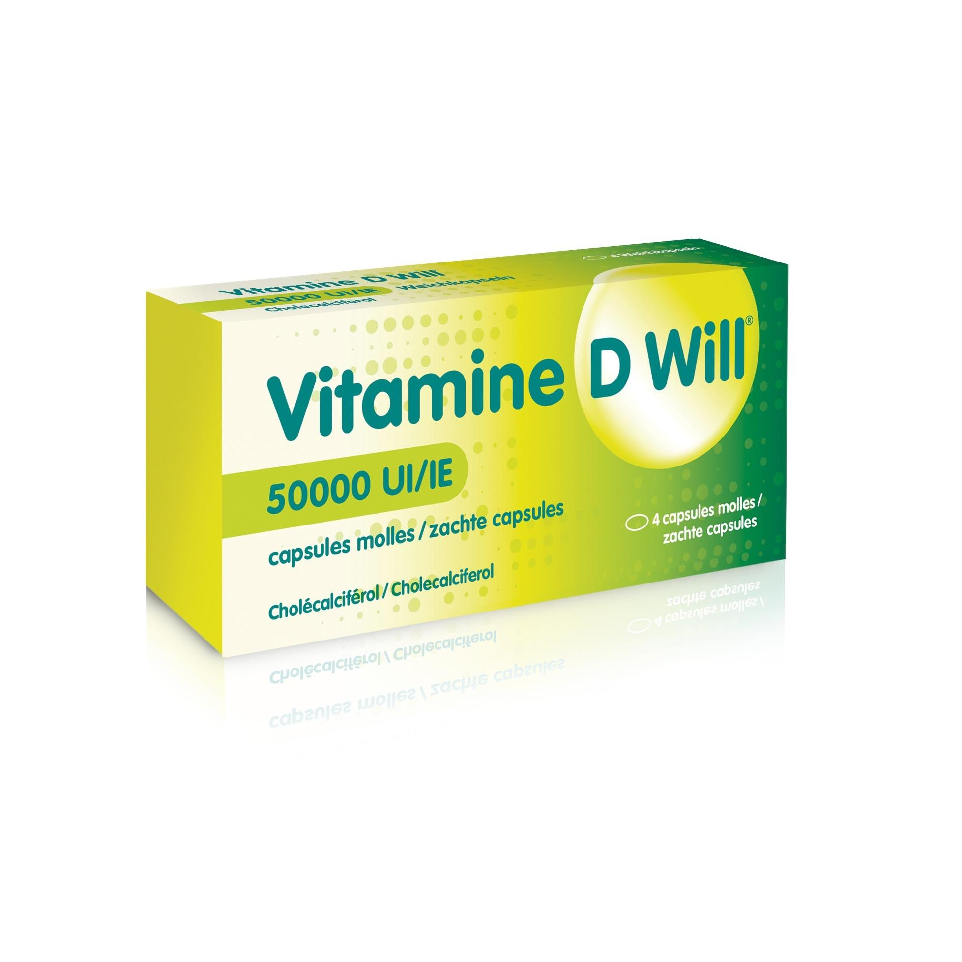 Image of Vitamine D Will 50.000 IE
