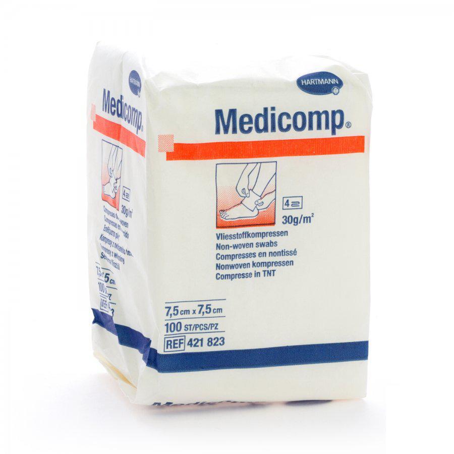 Image of Medicomp kompressen 7,5x7,5cm