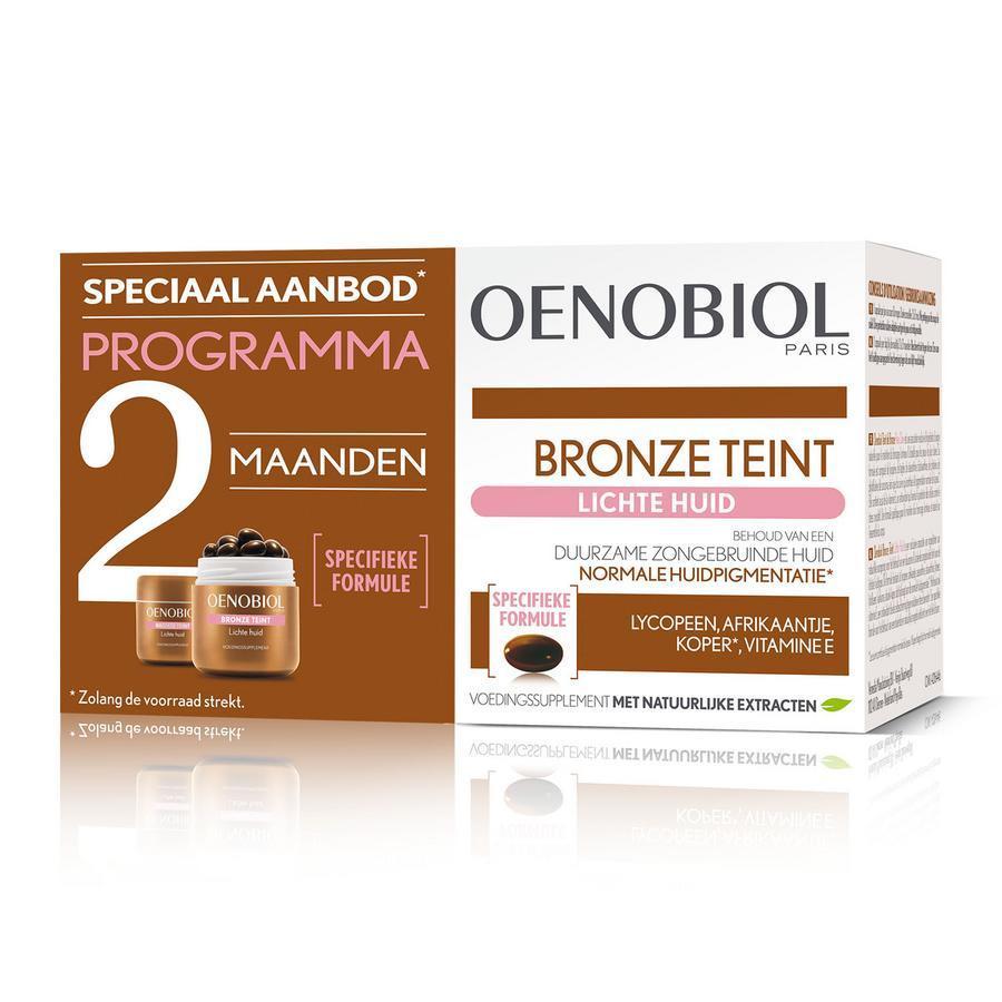 Oenobiol Bronze teint Lichte huid