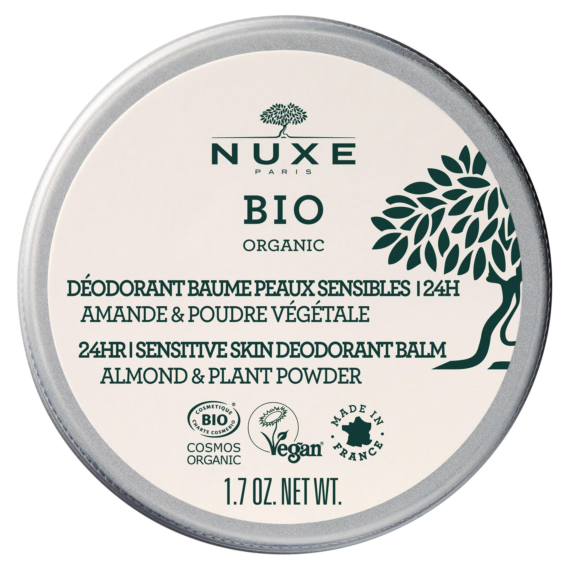 Image of Nuxe Bio Déodorant baume peaux sensibles