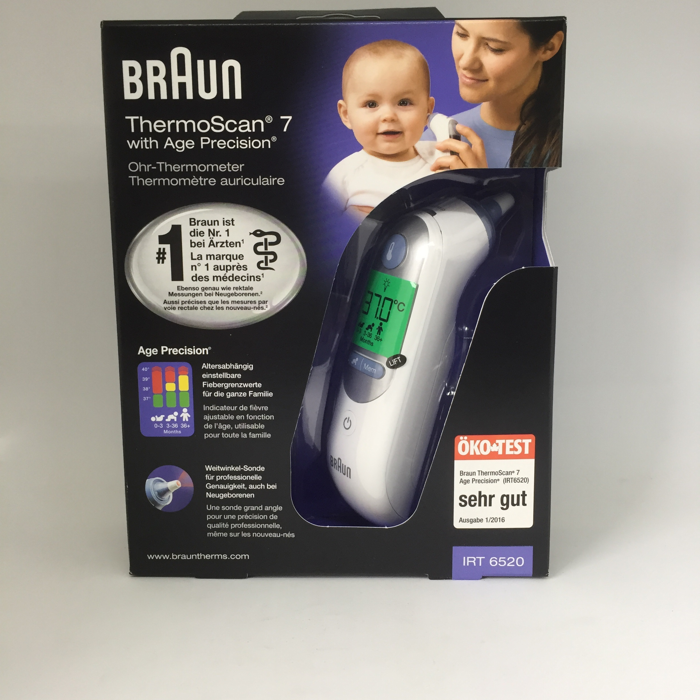 Image of Braun Thermoscan 7 oorthermometer IRT6520