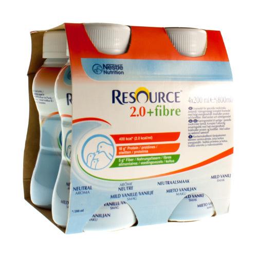 Image of Nestlé Resource 2.0+fibre neutre