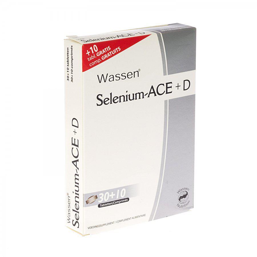 Selenium ACE+D promo 30+10 gratis