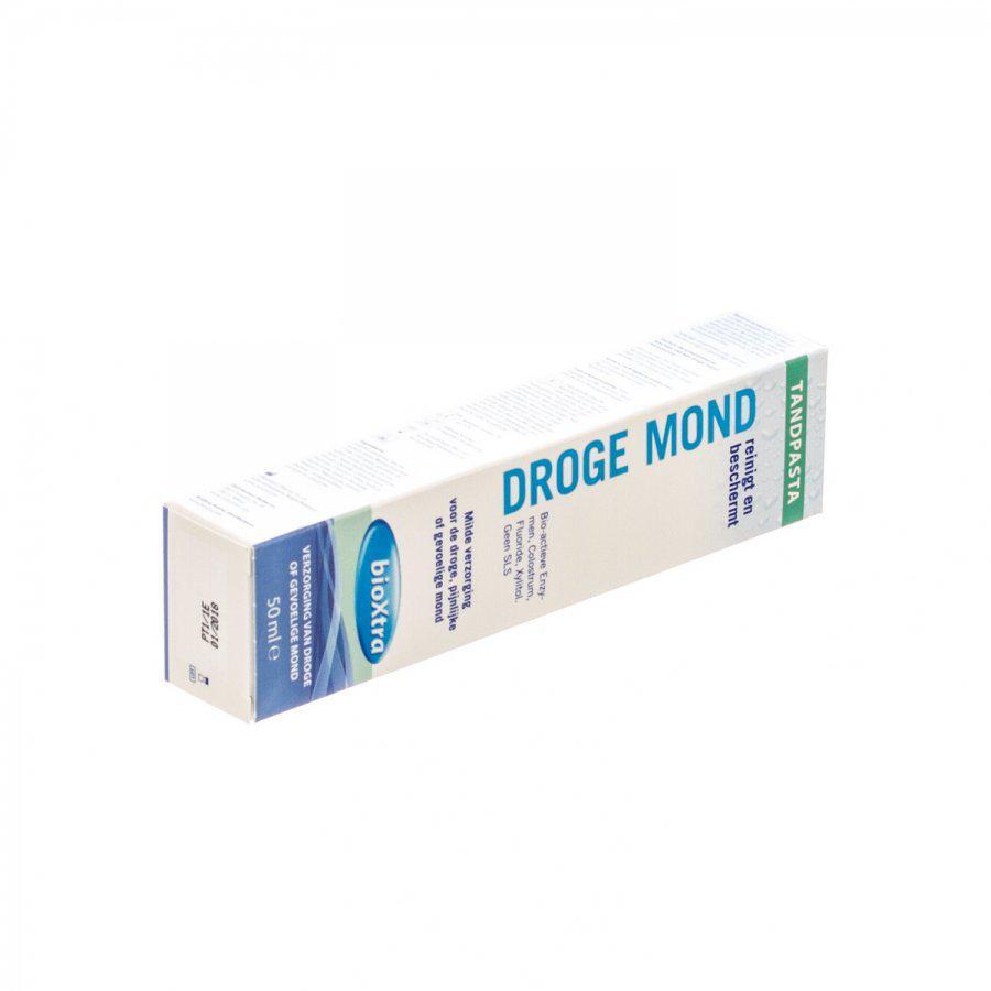 Bioxtra Zachte Tandpasta Droge Mond 50ml