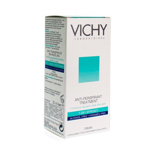 Vichy Deodorant Anti-transpiratie Creme 7 Dagen 30ml