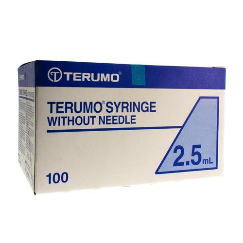 Image of Terumo spuit luer 2,5ml zonder naald