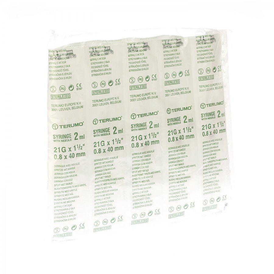 Image of Terumo Spuit luer 2,5ml + naald 21G