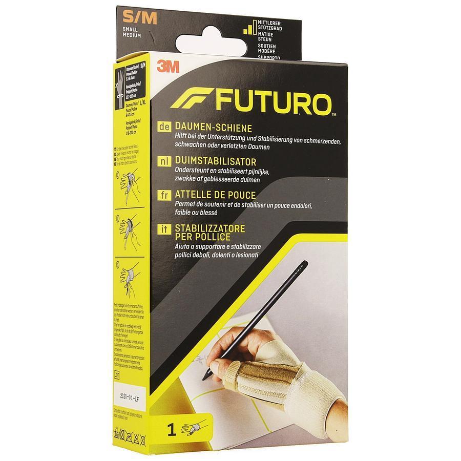 Image of Futuro attelle de pouce Deluxe S/M