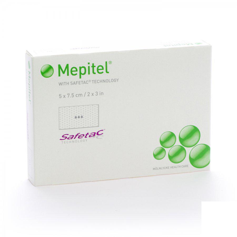 Image of Mepitel compresse stérile 5cmx7,5cm