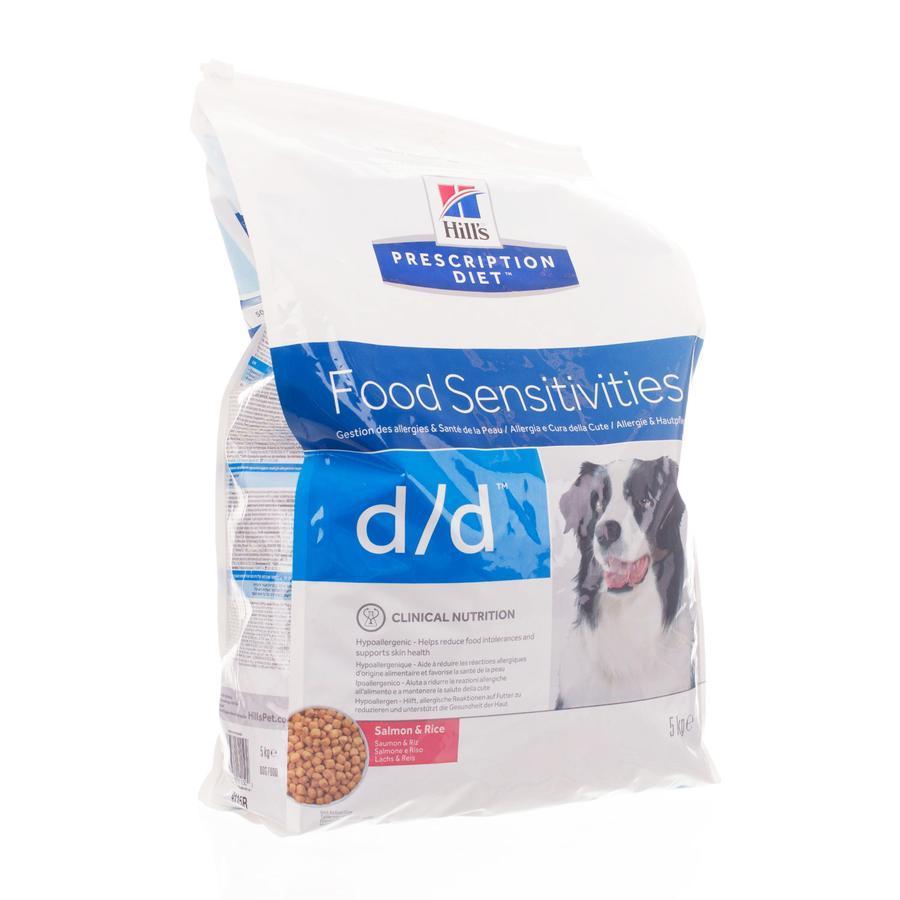 Hills prescription D-D hond zalm & rijst