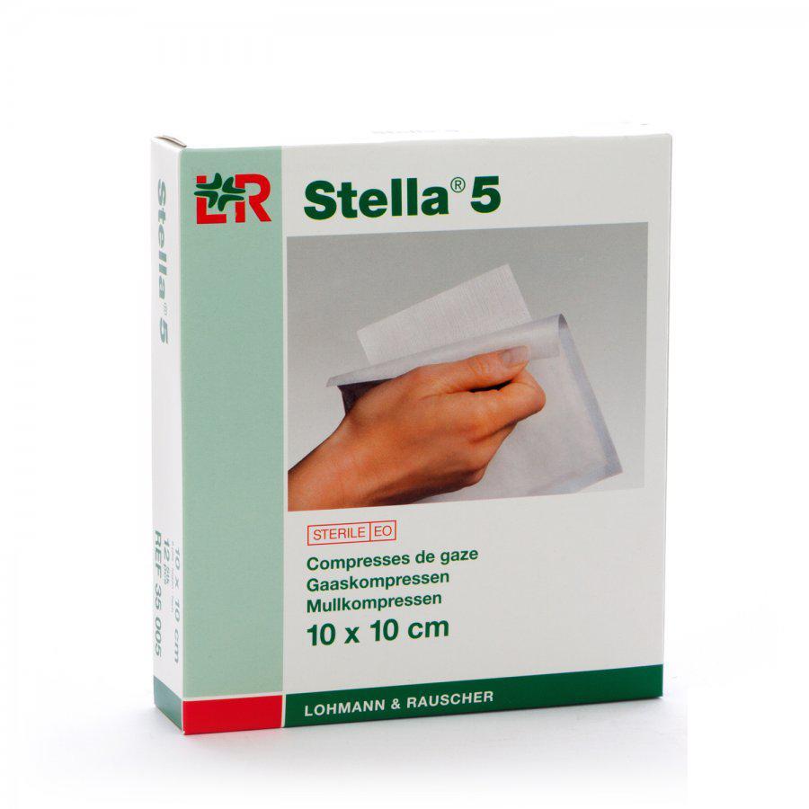 Image of Stella 5 kompressen 10x10cm