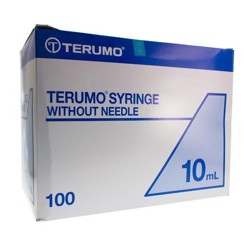 Image of Terumo spuit luer 10ml zonder naald