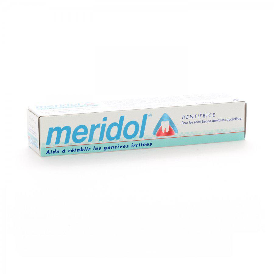 Image of Meridol dentifrice anti-plaque