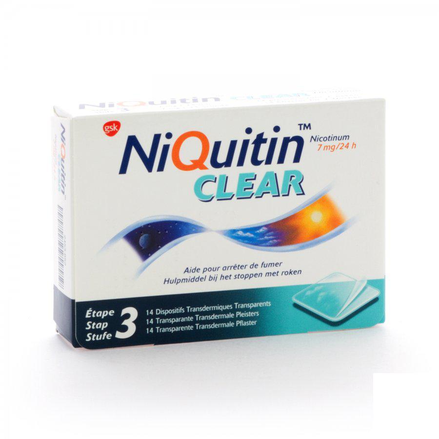 Niquitin Clear 7mg