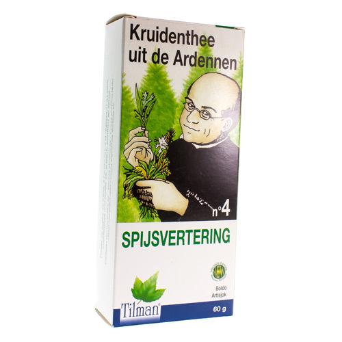 Ardennen thee nr 4 Spijsvertering