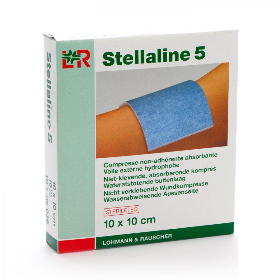 Image of Stellaline 5 kompressen 10x10cm