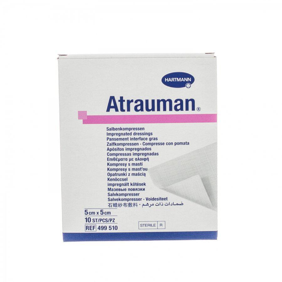 Image of Atrauman compresse grasse 5cmx5cm