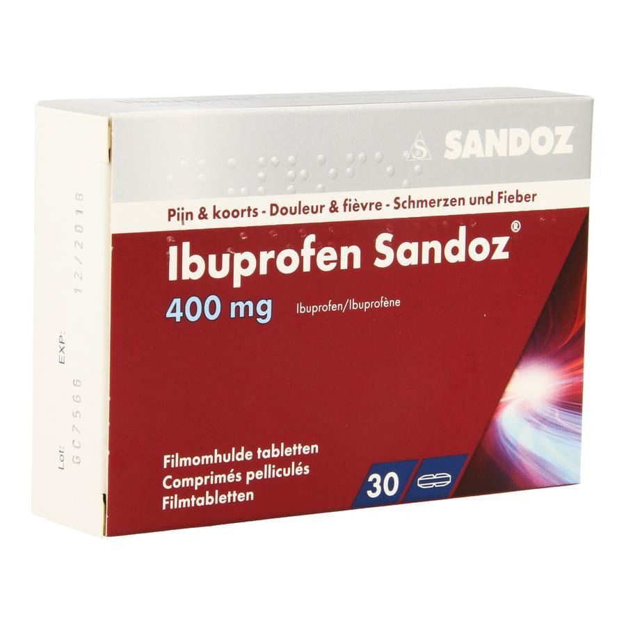 Image of Ibuprofen Sandoz 400mg