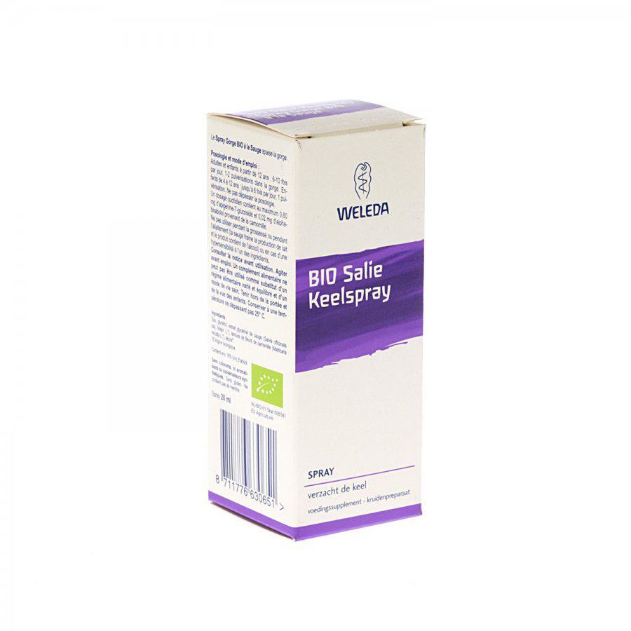 Image of Weleda Bio salie keelspray