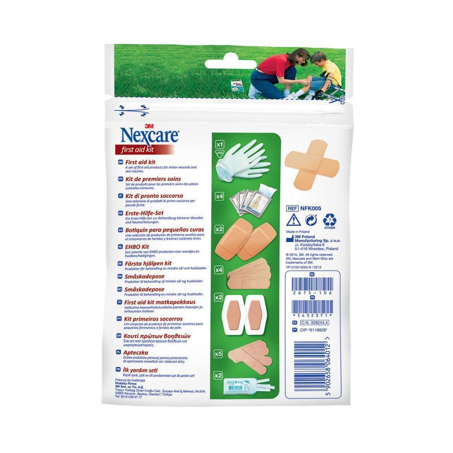 Nexcare First aid kit zipbag