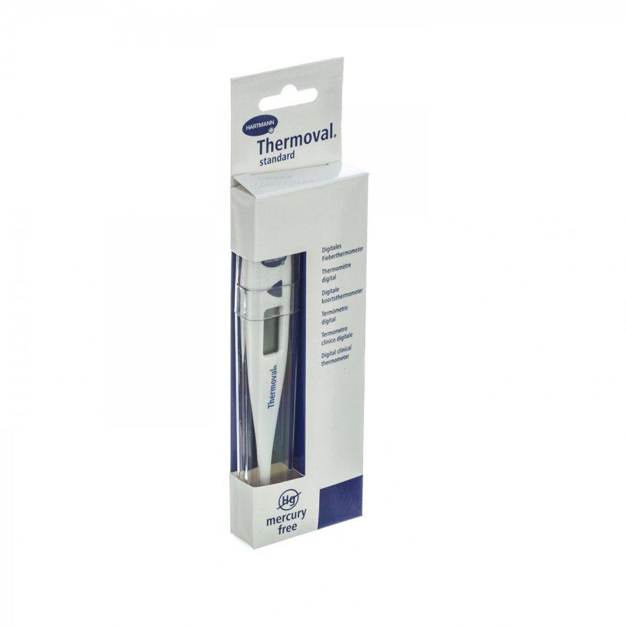 Hartmann Thermoval thermometer