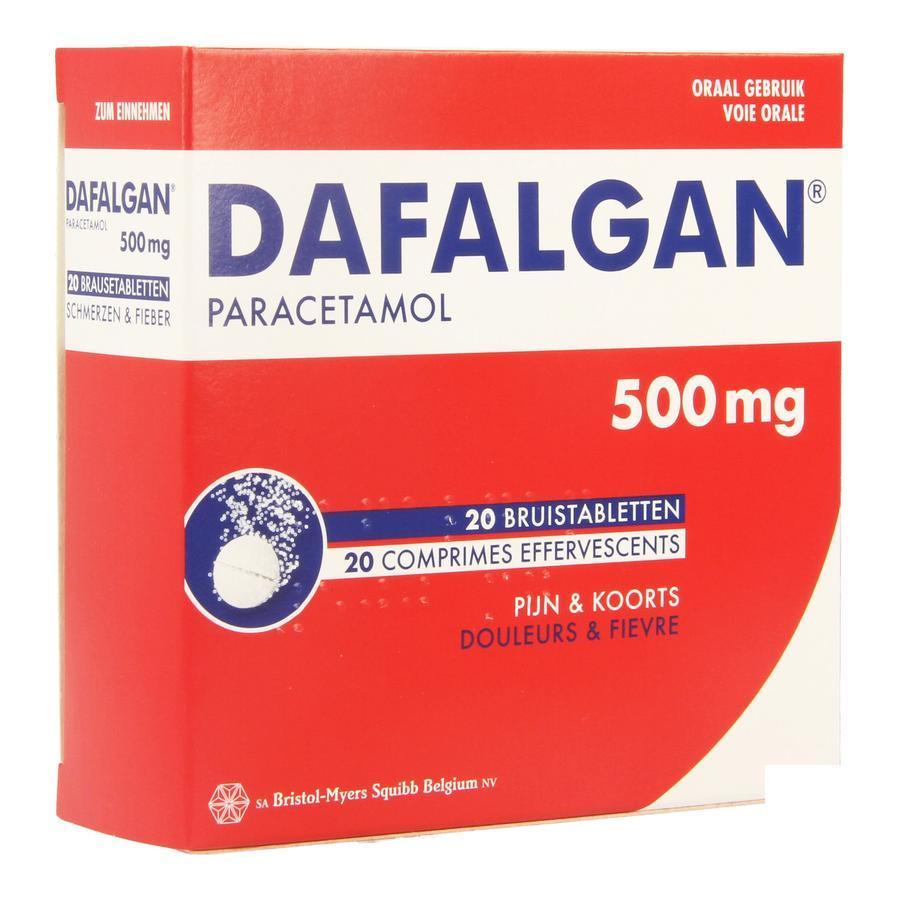 Image of Dafalgan 500mg bruistabletten