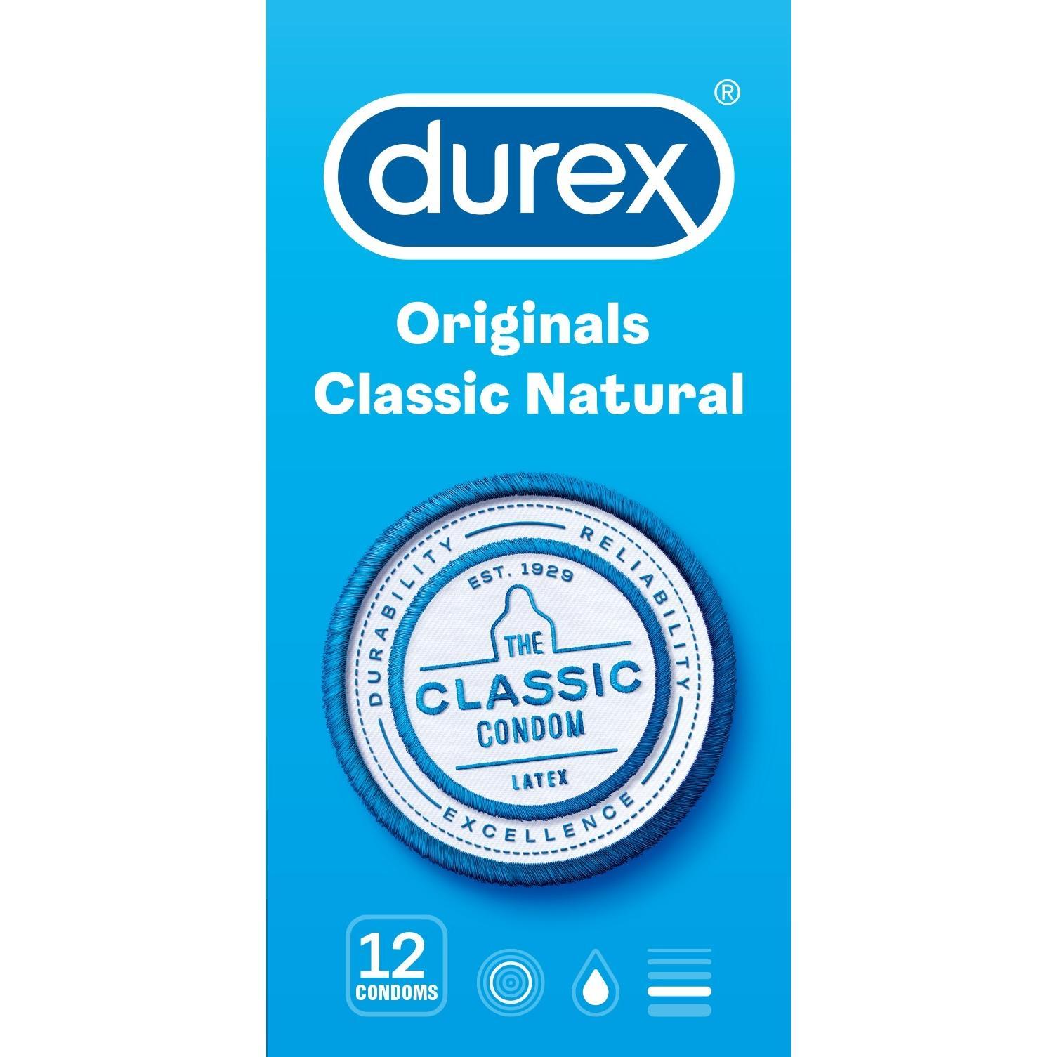 Image of Durex classic natural