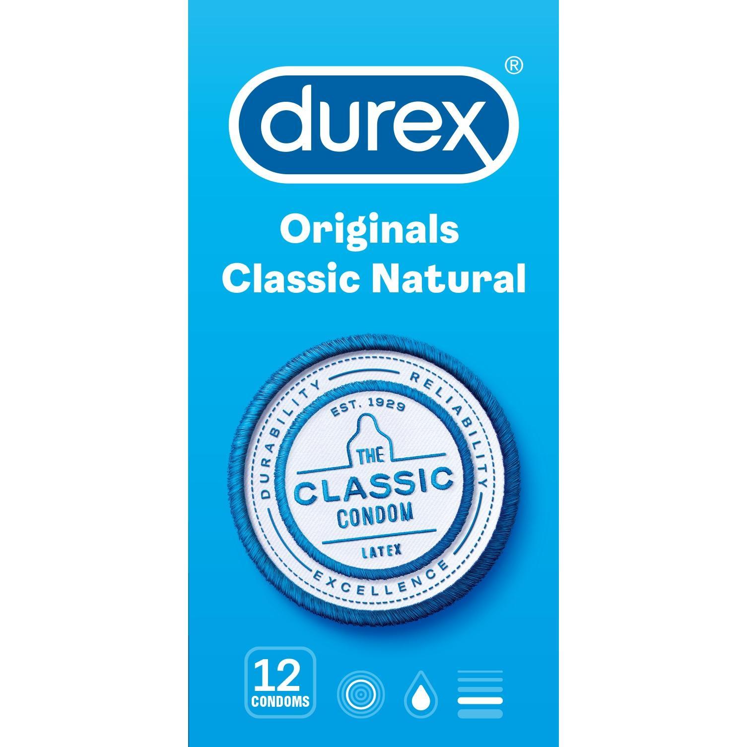 Image of Durex Classic natural condooms
