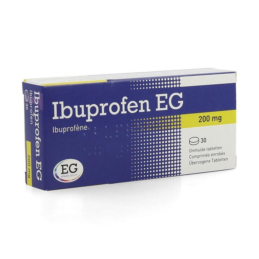 Image of Ibuprofen EG 200mg