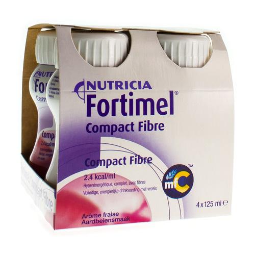Image of Fortimel compact fibre fraise