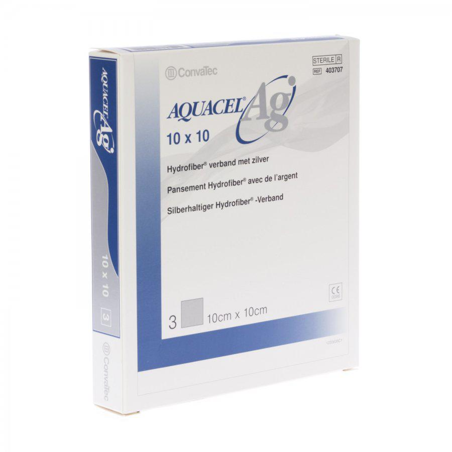 Image of Aquacel Ag 10cmx10cm