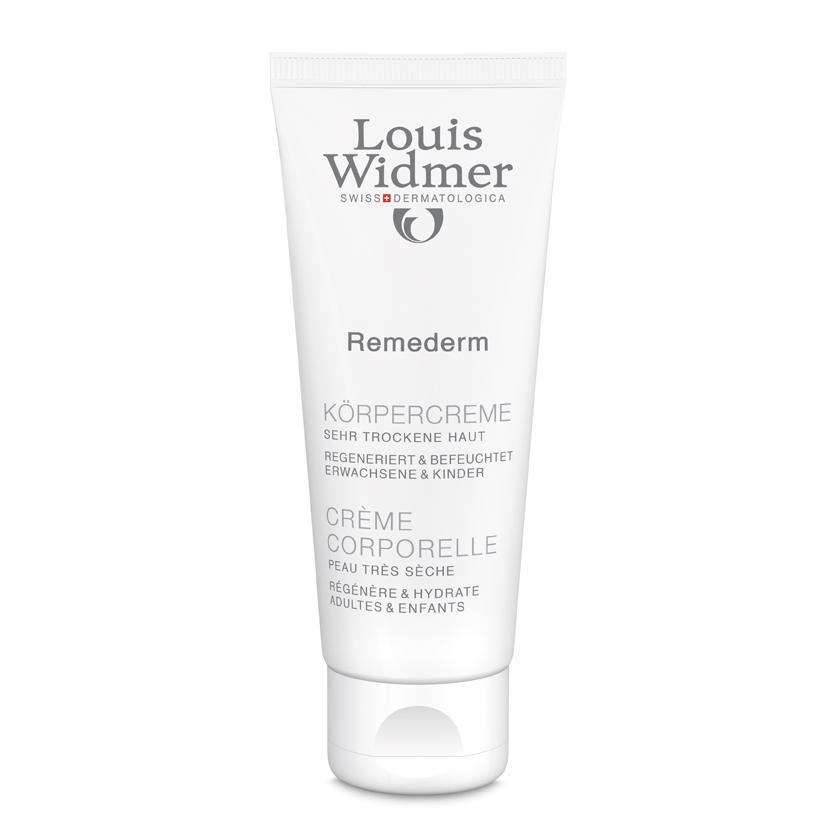 Louis Widmer Remederm lichaamscrème zonder parfum