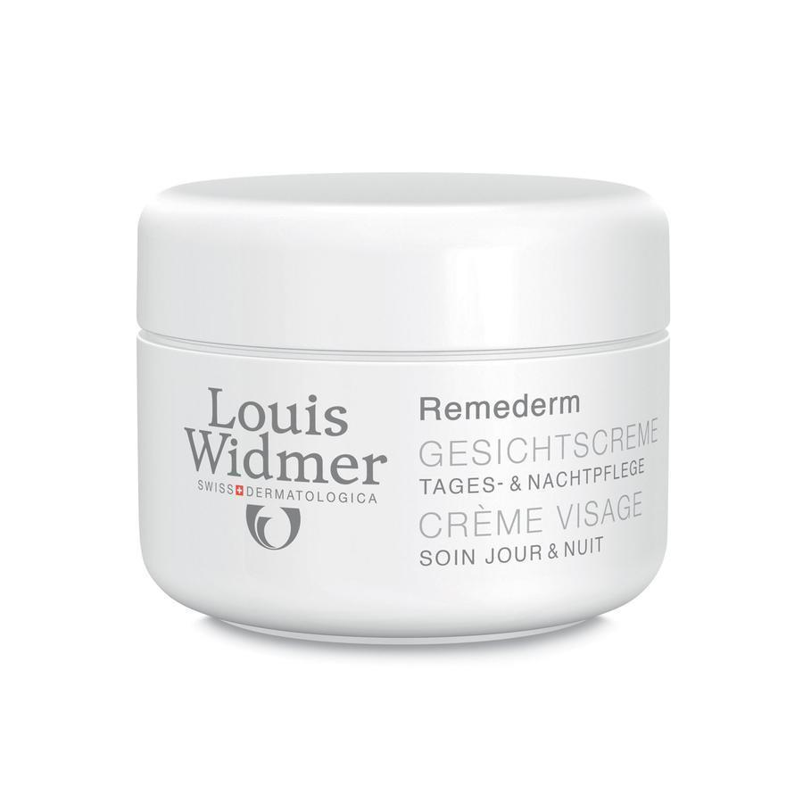 Louis Widmer Remederm gezichtscrème zonder parfum