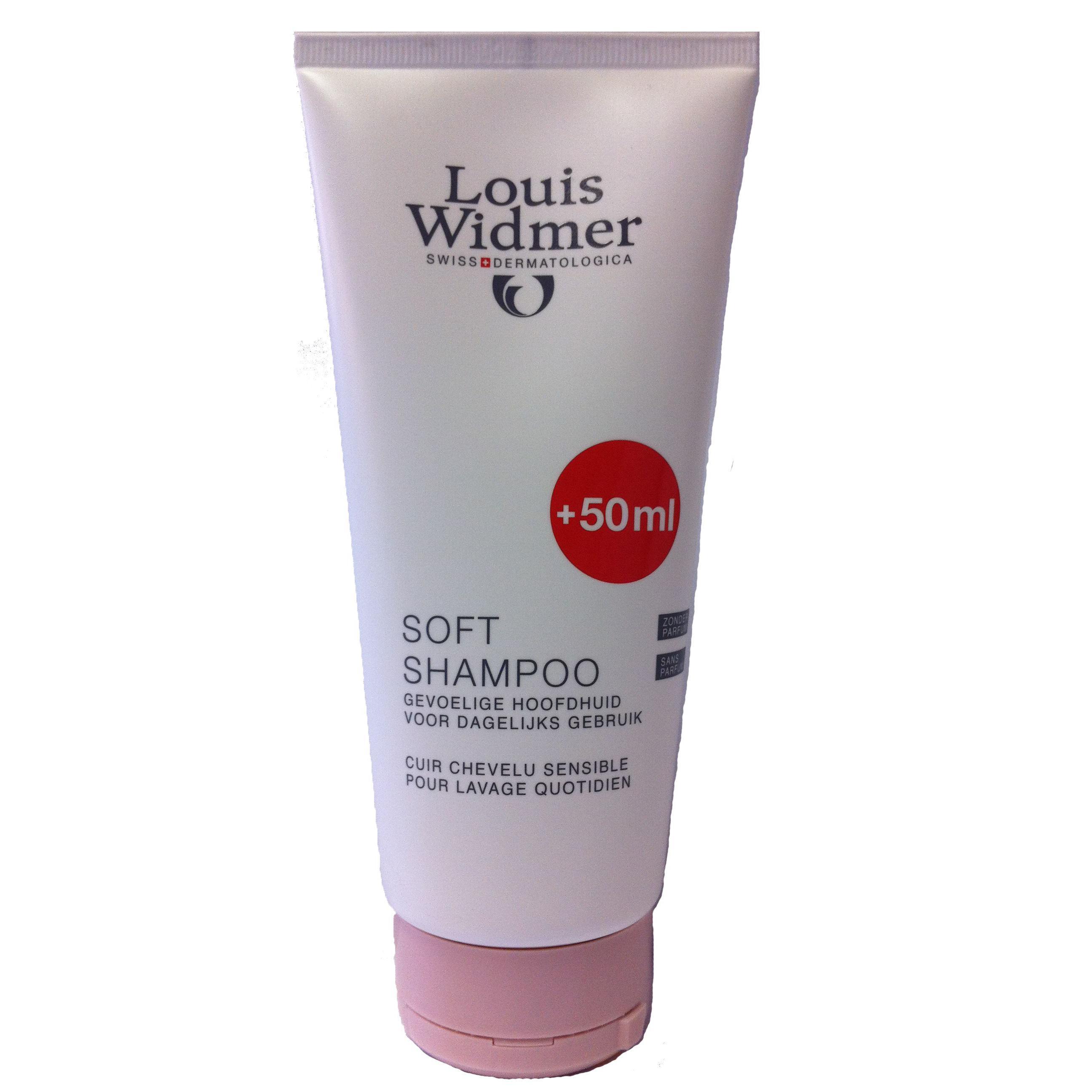 Louis Widmer Soft Shampoo unparfümiert Sonderangebot 50ml gratis
