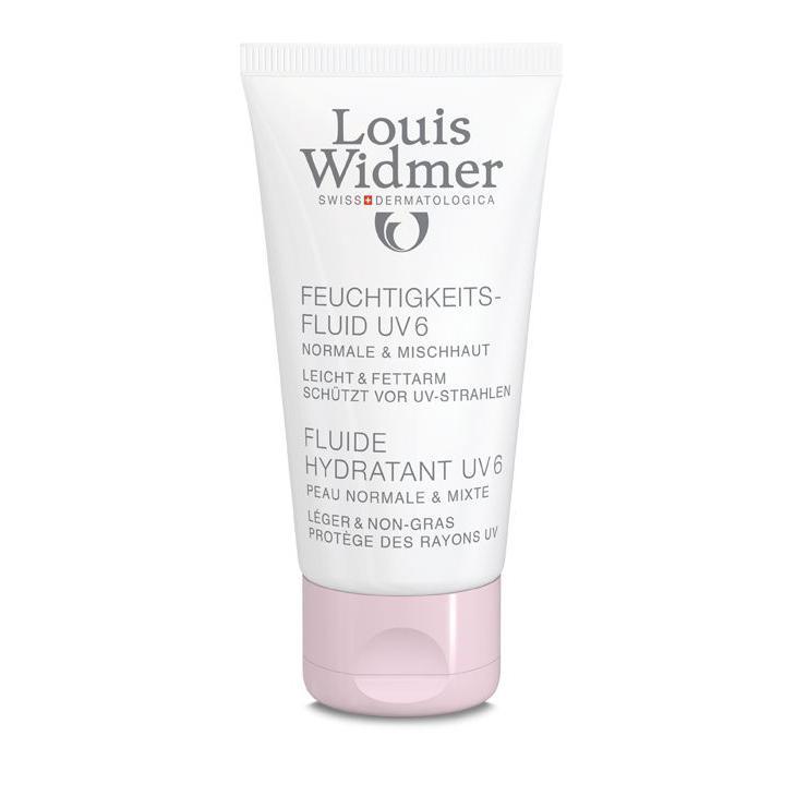 Louis Widmer Fluide hydratant UV 6 geparfumeerd