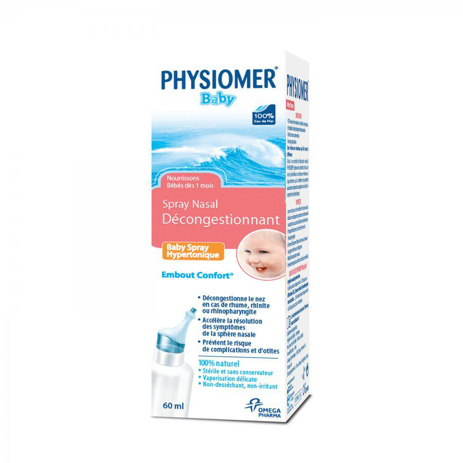 Image of Physiomer bébé hypertonique