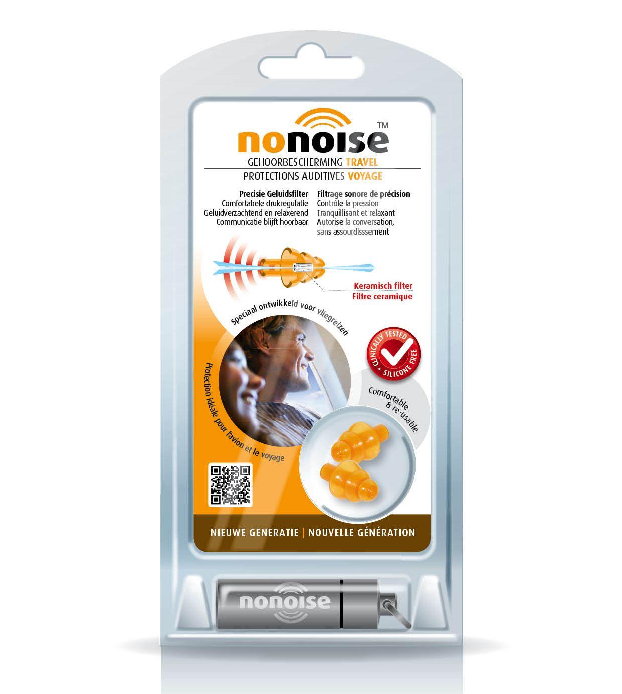 Image of NoNoise gehoorbescherming reizen