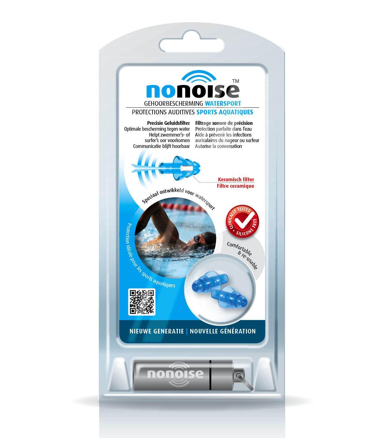 NoNoise Gehoorbescherming watersport