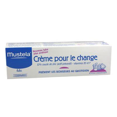 Image of Mustela Bébé crème pour le change 1-2-3