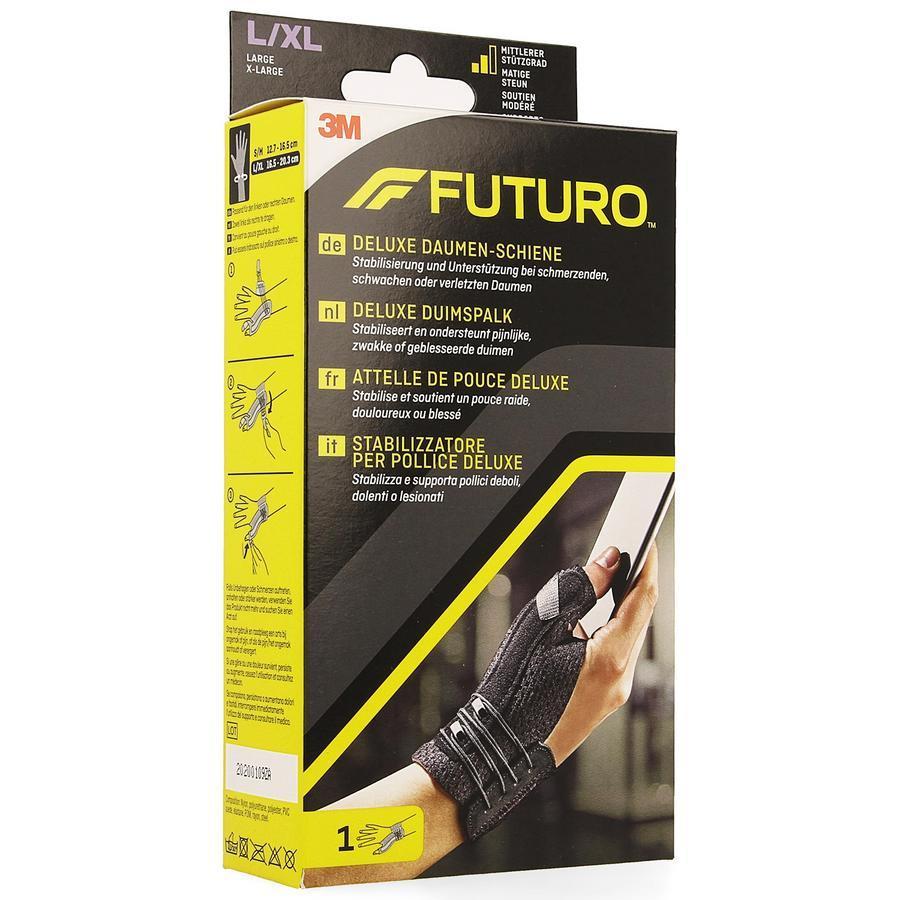 Image of Futuro attelle de pouce Deluxe L/XL