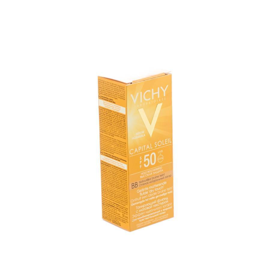 Image of Vichy Capital Soleil BB getinte emulsie SPF50