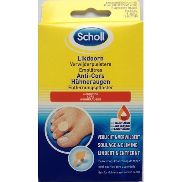 Image of Scholl likdoorn verwijderpleisters
