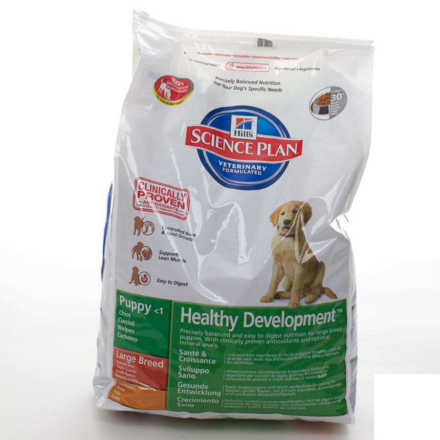 Hills Science Plan puppy Large Breed 2013m