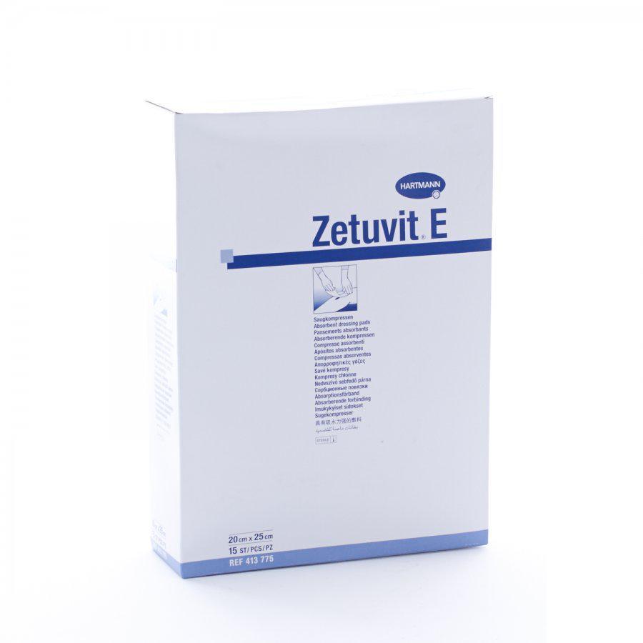 Image of Zetuvit E steriele absorberende kompressen 20x25cm