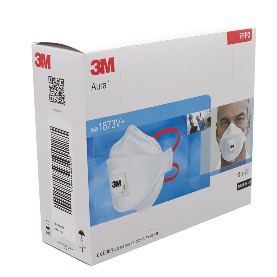 Image of 3M masque respiratoire avec valve