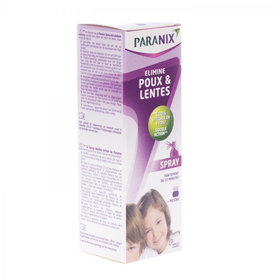 Image of Paranix spray+peigne anti-poux