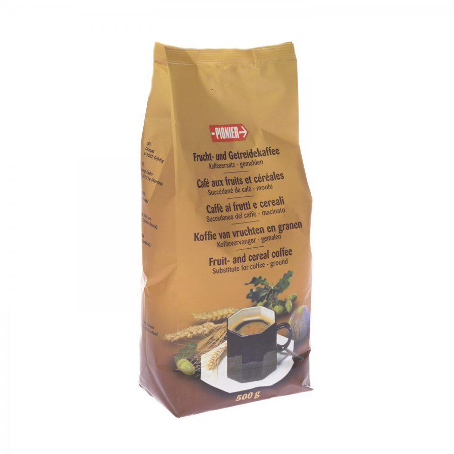 Pionier vruchtenkoffie gemalen